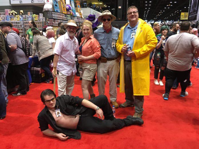 cosplay Jurassic Park