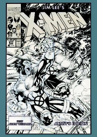 Jim Lee X-Men Artist's Edition Cover