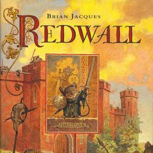 The cover of the original Redwall