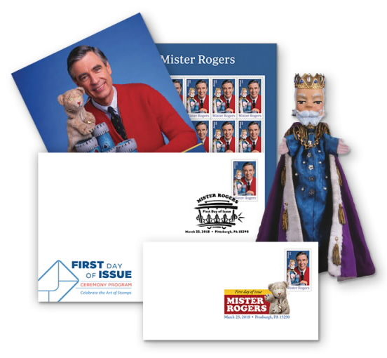 USPS Mister Rogers first day
