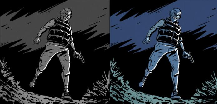 Bog Bodies graphic novel colors