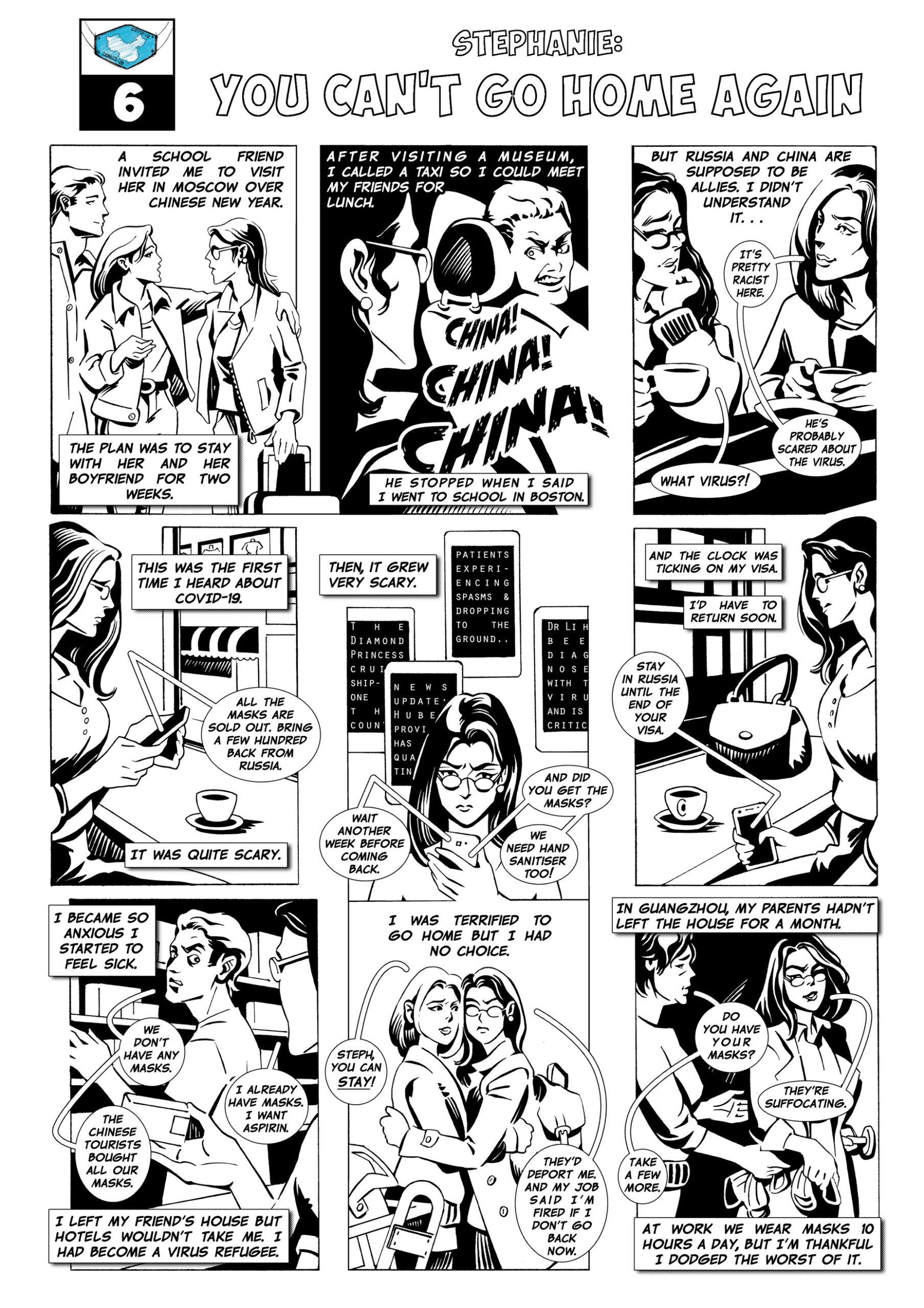 covid-19 relief comics-social distancing read