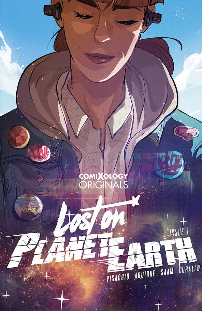 Lost on Planet Earth cover