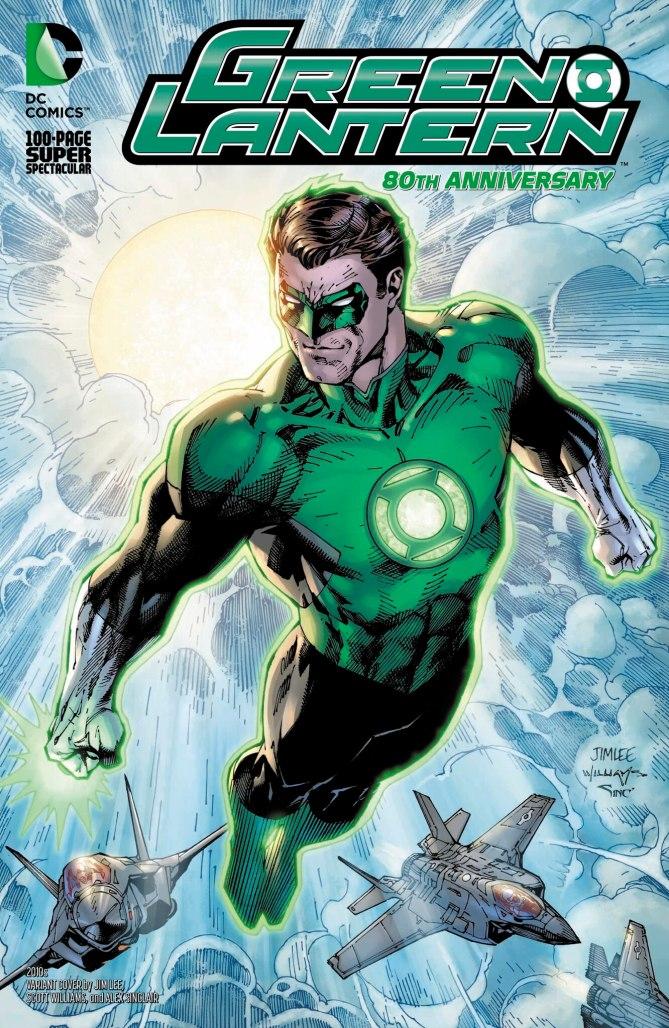 Green Lantern 80th Anniversary 2010s Cover