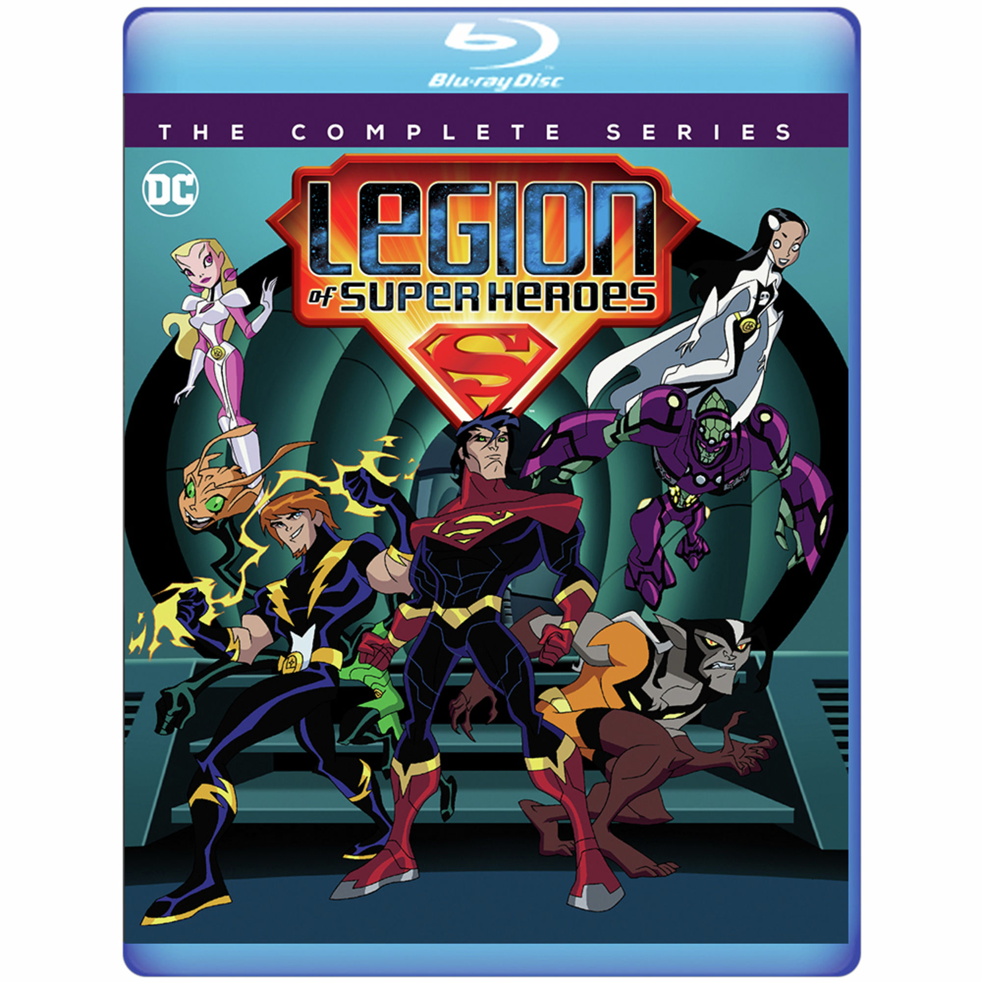Legion Of Superheroes Cartoon Complete Series Coming To Blu Ray The Beat