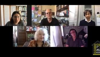 SDCC 20 Teaching & Making Comics Panel