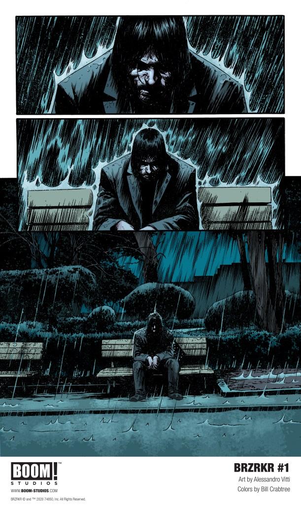 Keanu Reeves comic