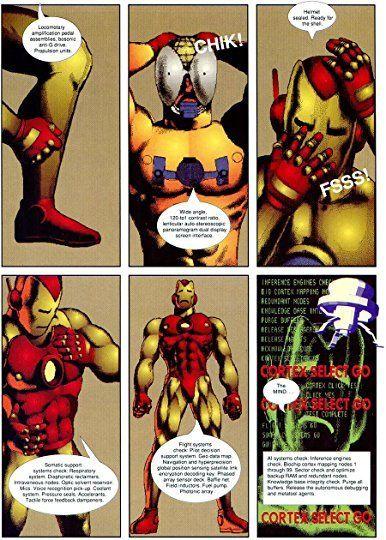 Iron Man Crash
