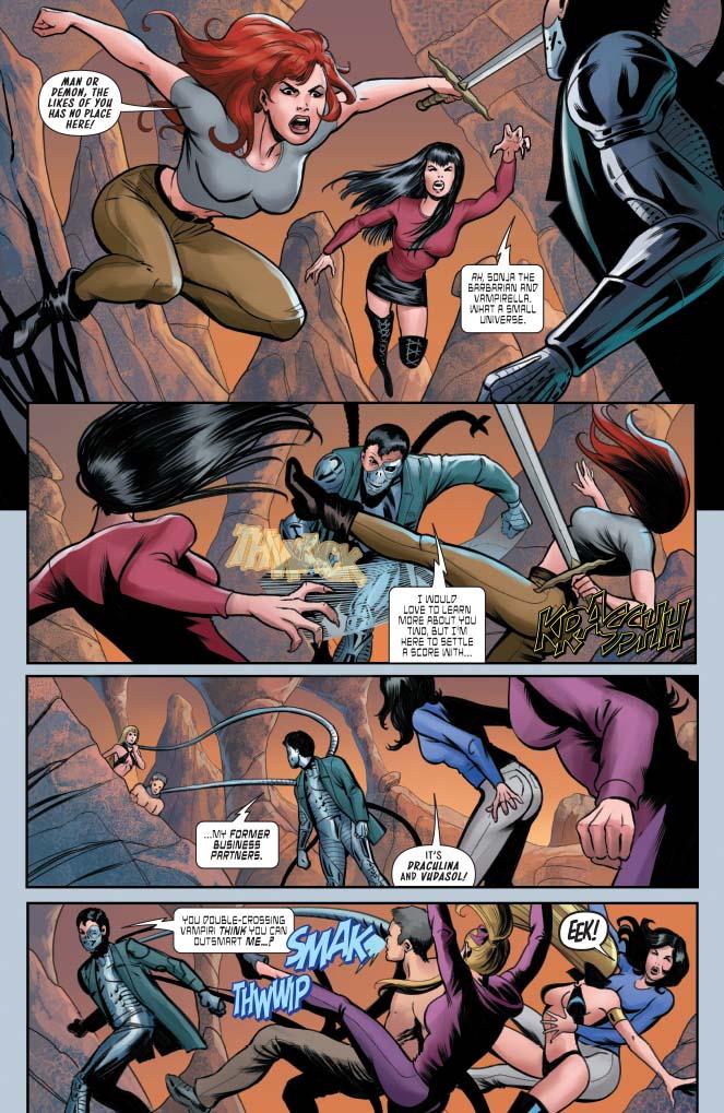 Red Sonja & Vampirella meet Betty & Veronica