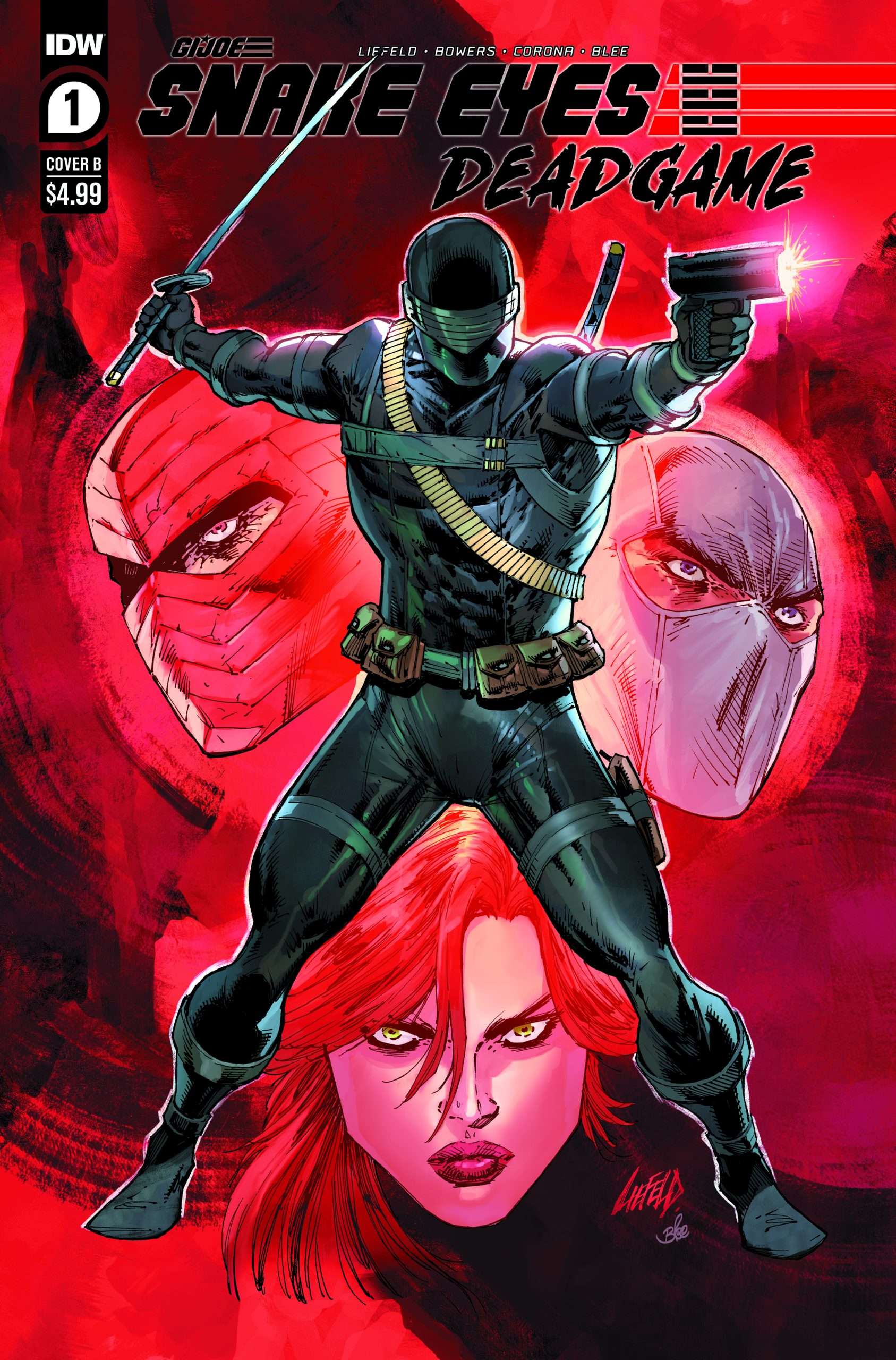 Rob Liefeld's Snakes Eyes Deadgame #1B Cover