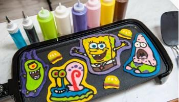 SpongeBob virtual pancake party