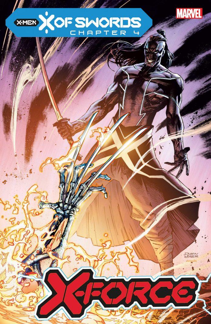 X-FORCE x of swords