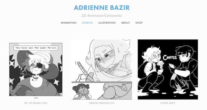Adrienne Bazir portfolio