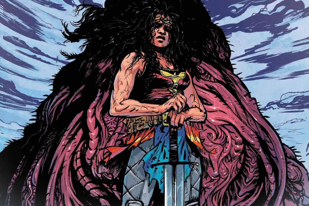 Wonder Woman Dead Earth #4