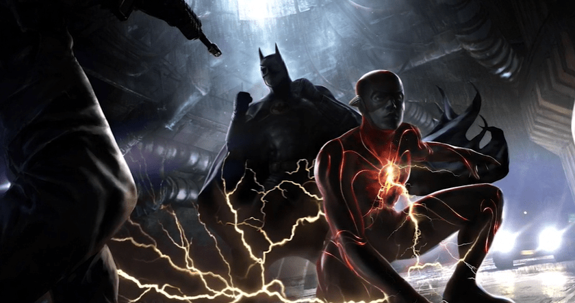 concept art for The Flash (2022)