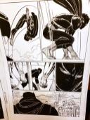 Black Panther #2 Original Art - 1st Shuri Original Art by John Romita Jr and Klaus Janson and Reggie Hudlin Page #4