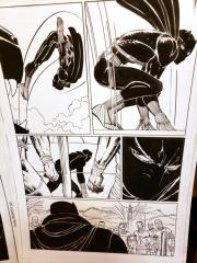 Black Panther #2 Original Art - 1st Shuri Original Art by John Romita Jr and Klaus Janson and Reggie Hudlin Page #4