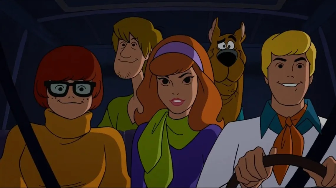 SCOOBY-DOO gang voice