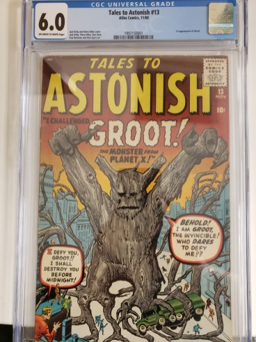 Tales To Astonish #13 1st Groot Marvel Comics