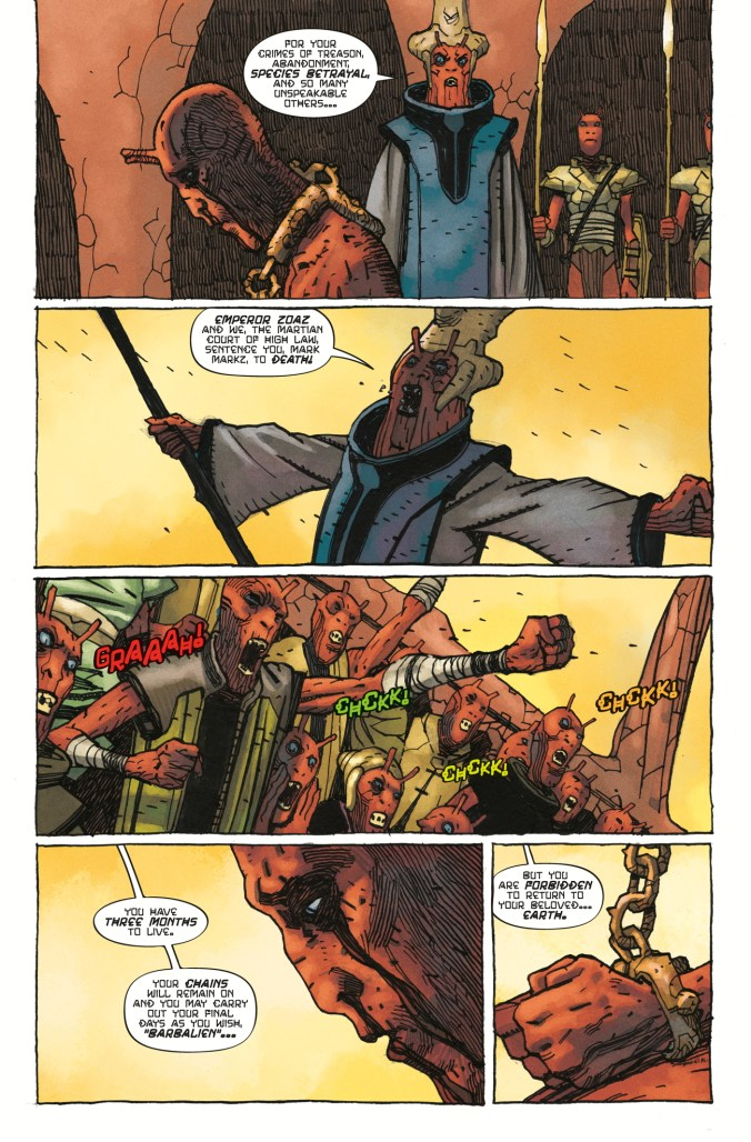 Barbalien Red Planet #1 page