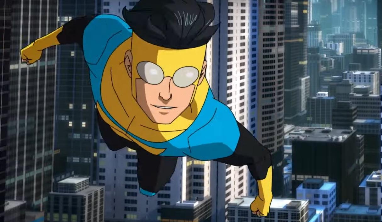 Robert Kirkman's superhero series 'Invincible' reveals first look