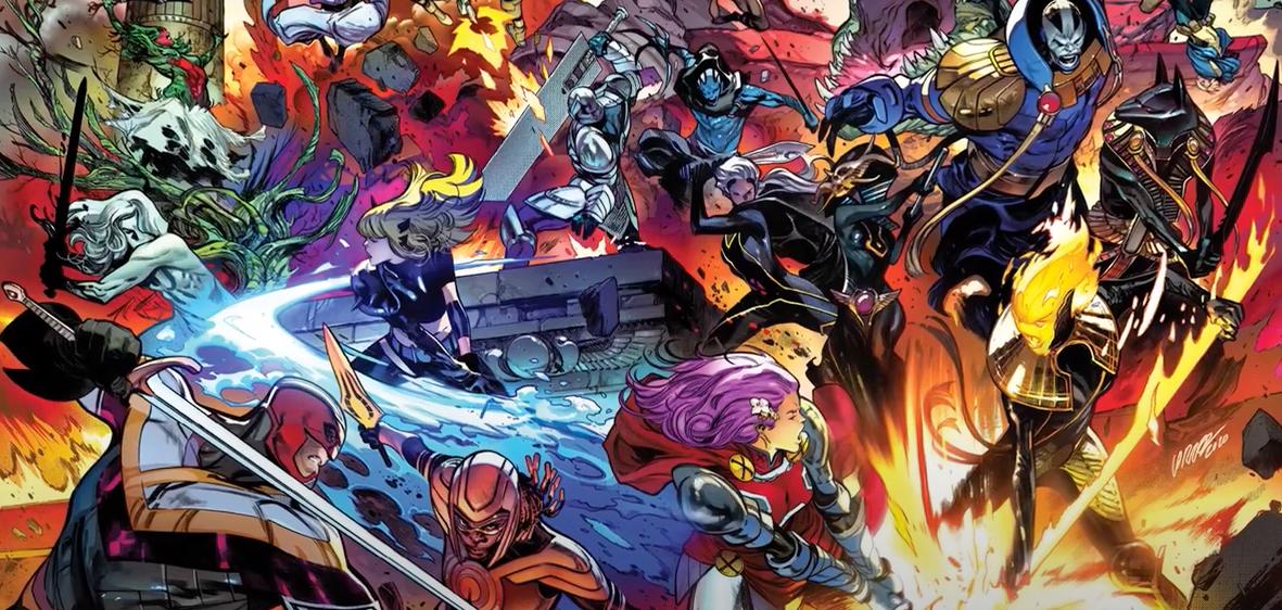 X of Swords Panel