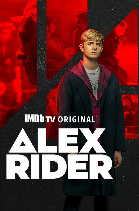 Otto Farrant as Alex Rider