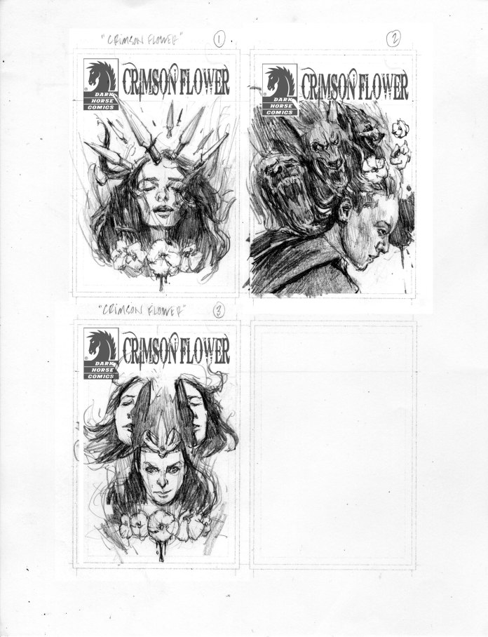Cover B Sketches