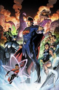 Crime Syndicate #1 Cover by Jim Cheung
