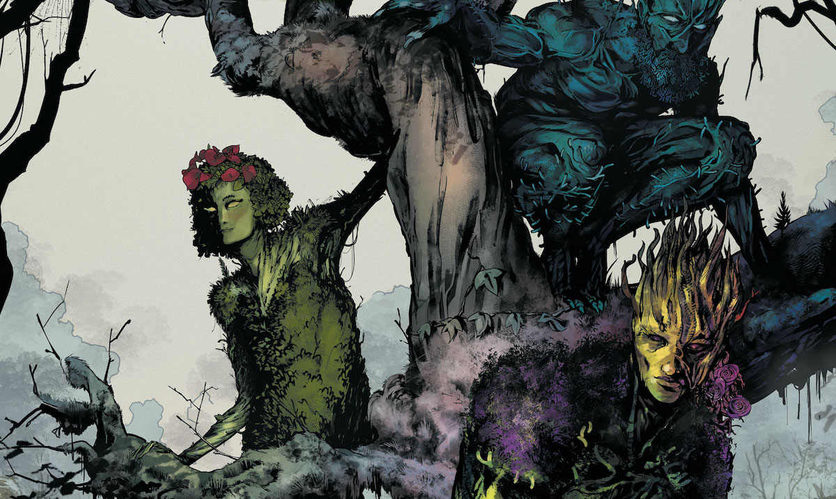 Perkins cover A OF 2 ships 01//05//2021 DC Future State SWAMP THING #1
