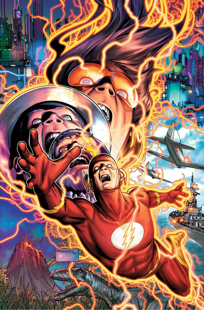 The Flash #768 Cover