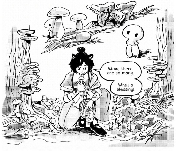 Calla and the Forest Gods