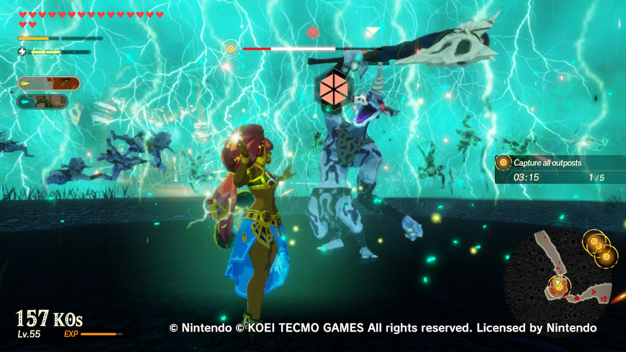 Review In Hyrule Warriors Age Of Calamity History Comes Alive You Punch It The Beat