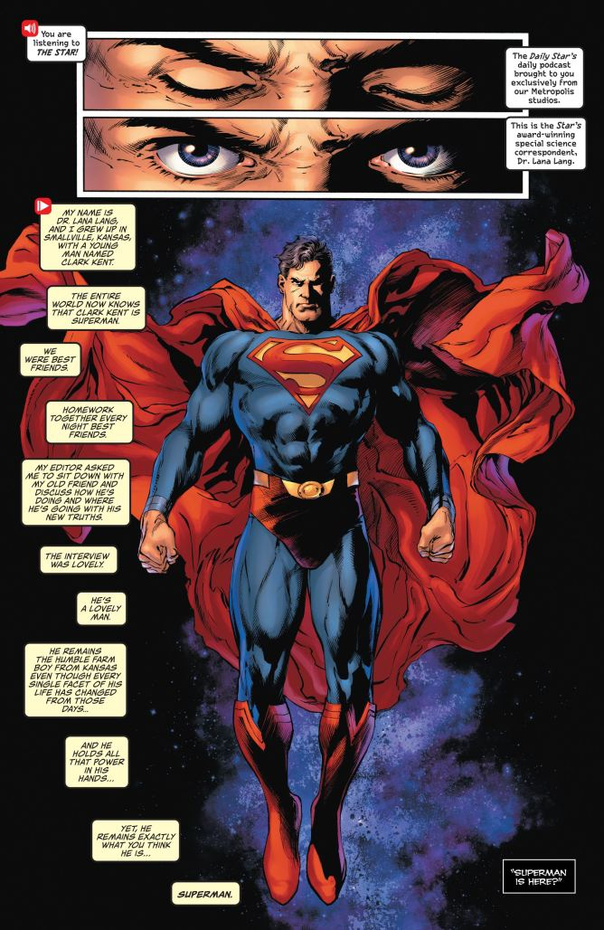 Page 1 from Superman #28
