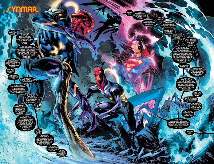 Pages 2 & 3 of Superman #28