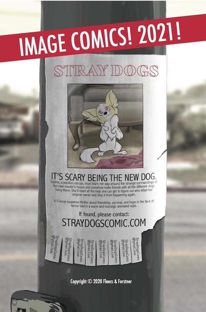 tony fleecs stray dogs ad