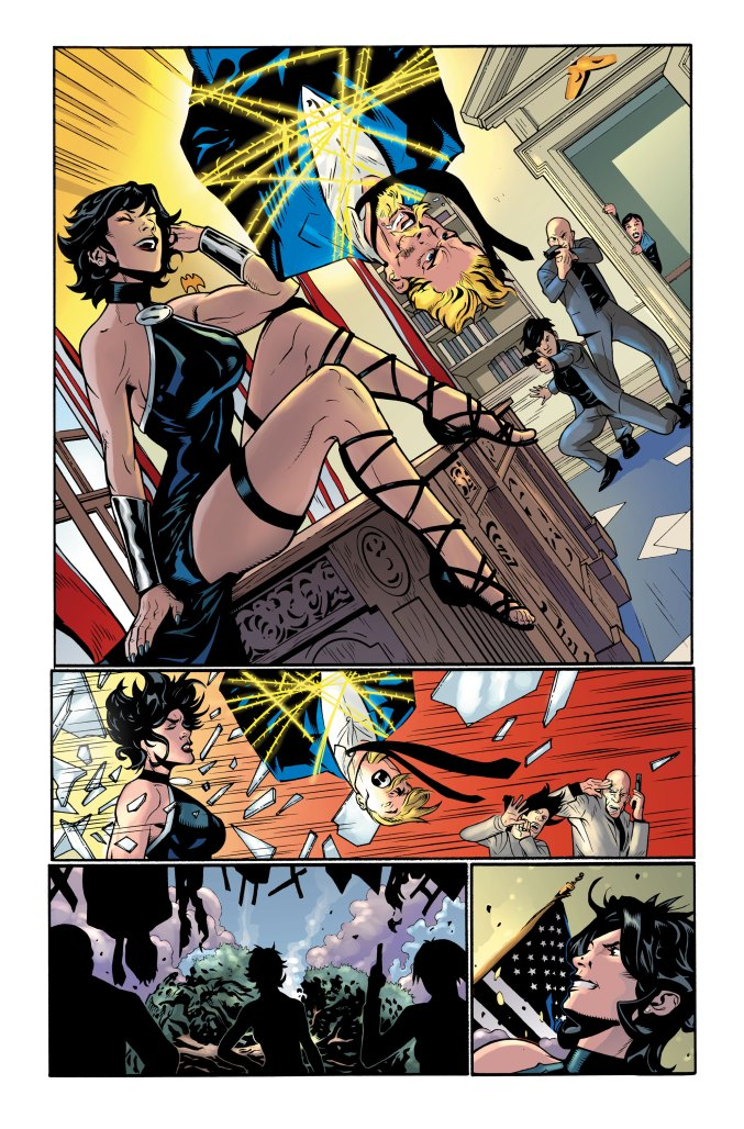 Crime Syndicate #1 Preview Page