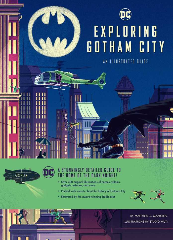 Exploring Gotham City Cover