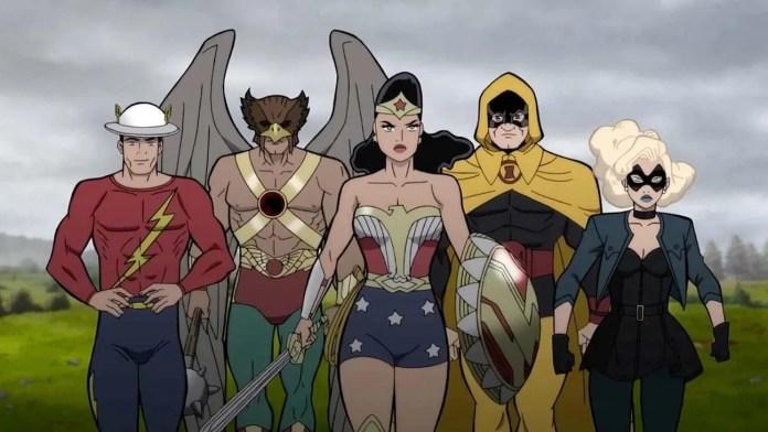 Justice Society: World War II trailer