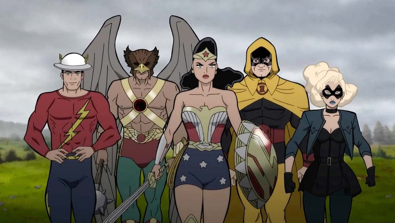 Justice Society animated