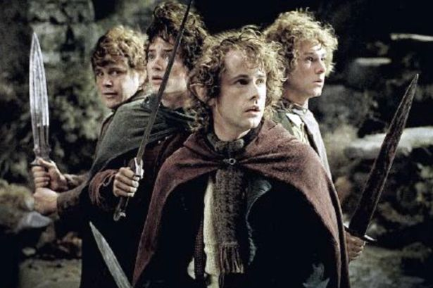 The original cast of The Lord of the Rings