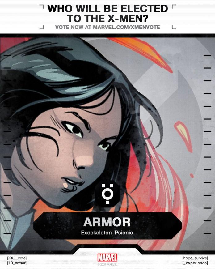Armor X-Men Vote Poster