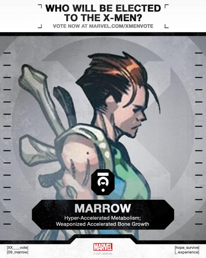 Marrow X-Men Vote Poster