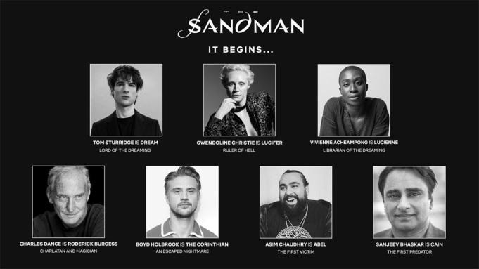 Netflix reveals cast of The Sandman adaptation