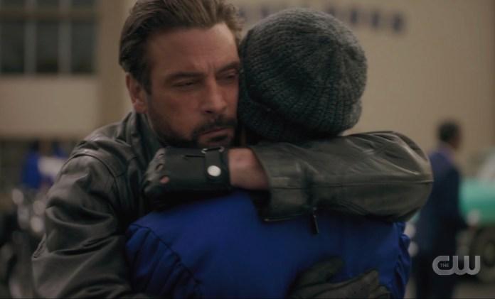 FP and Jughead Jones hug one final time on Riverdale