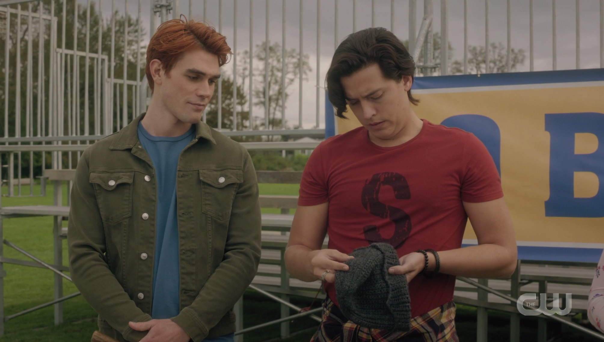 Jughead Jones gives up his beanie on Riverdale