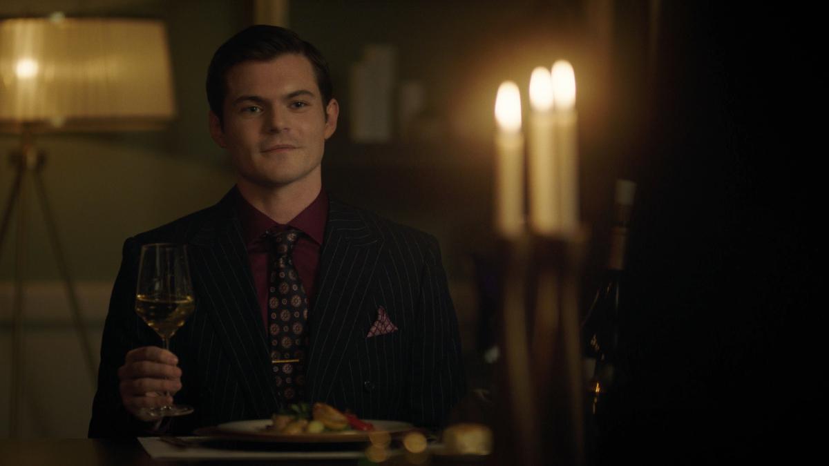 Veronica's husband Chadwick on Riverdale