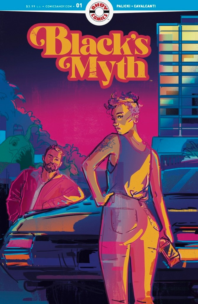 Black's Myth Ahoy Comics
