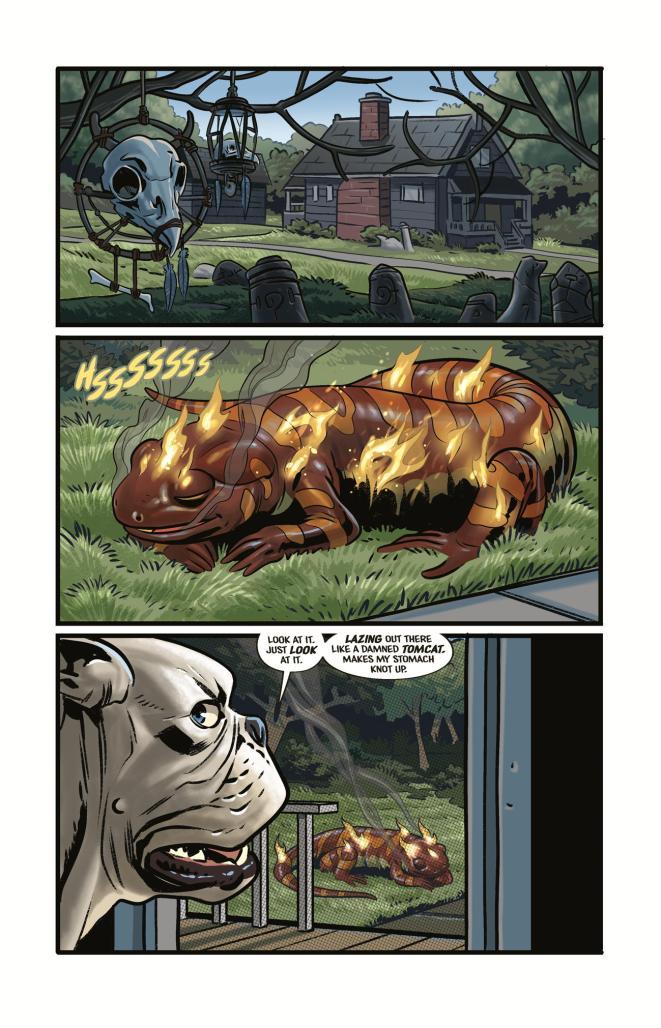 Beasts of Burden: Occupied Territory #1