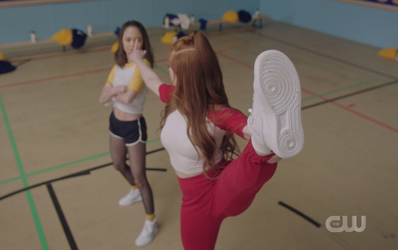 Riverdale dance off Cheryl vs Toni